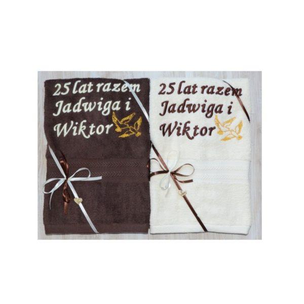 recznik na jubileusz slubu