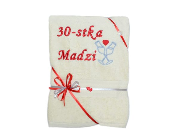 ręcznik na 30-stke