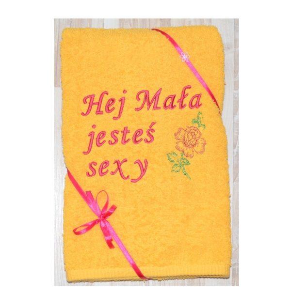 ręcznik dla sexy osoby