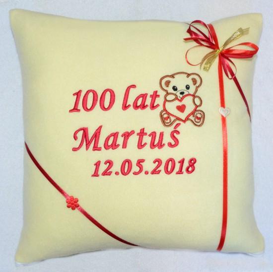 poduszka na urodziny