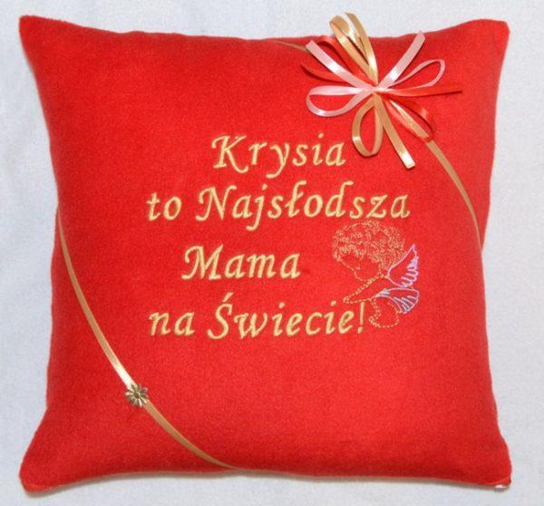 poduszka na dzień matki