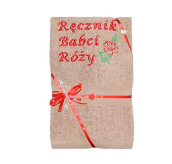 Ręcznik Babci z różą