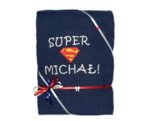 ręcznik z haftem na prezent walentynkowy