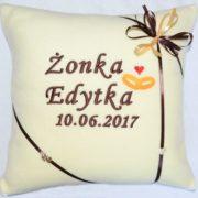 poduszka dla młodej pary