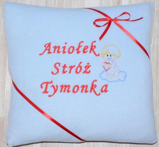poduszka z aniołkiem
