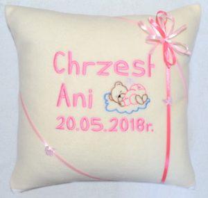poduszka na chrzciny