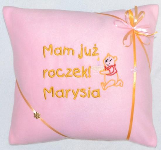 poduszka na roczek