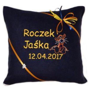 Poduszka z haftem na roczek