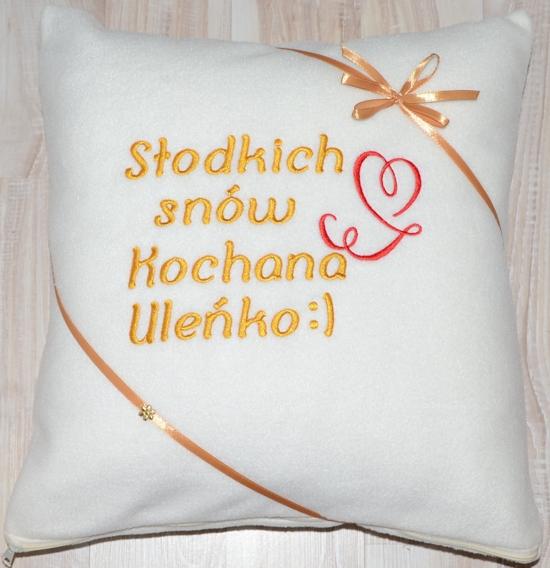 Poduszka na Walentynki
