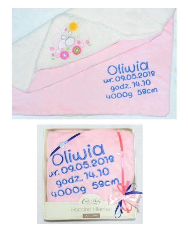 ręcznik dla dziewczynki